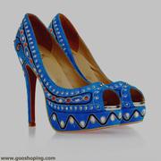 cl embroidery diamond open toe high heel women sandal blut red shoe